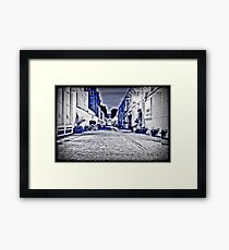 The Cobbled Mews Framed Print