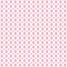 Noughts & Crosses - Blossom Pink by ifourdezign