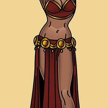 American Traditional Exotic Belly Dancer by salty-dog