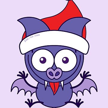 Christmas bat making funny faces by Zoo-co