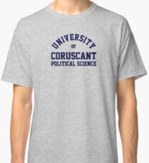 (Completely Unofficial) - Star Wars inspired - University of Cursucant Political Science Classic T-Shirt