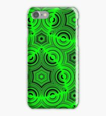 Green Ugly Pattern iPhone Case/Skin