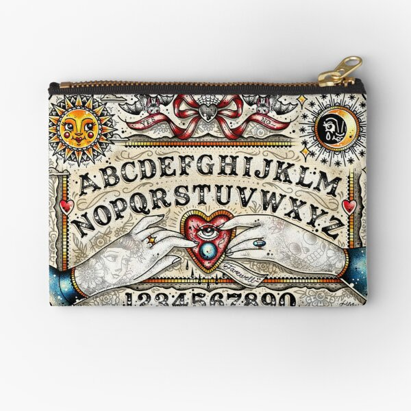 Ouija Board Zipper Pouch