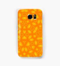 Yellow Orange abstract pattern Samsung Galaxy Case/Skin