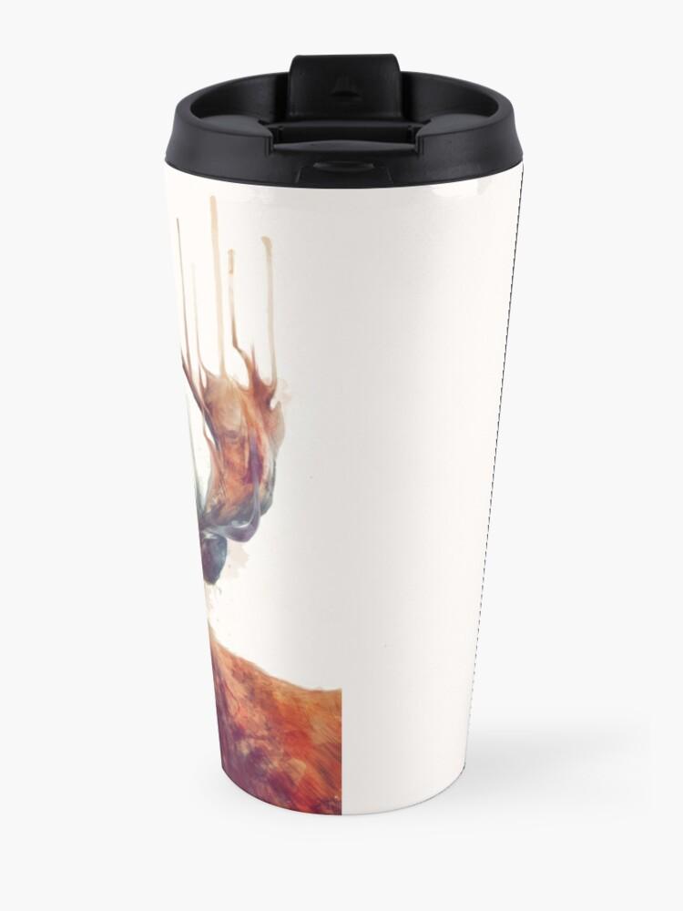 Alternate view of Red Deer Travel Mug