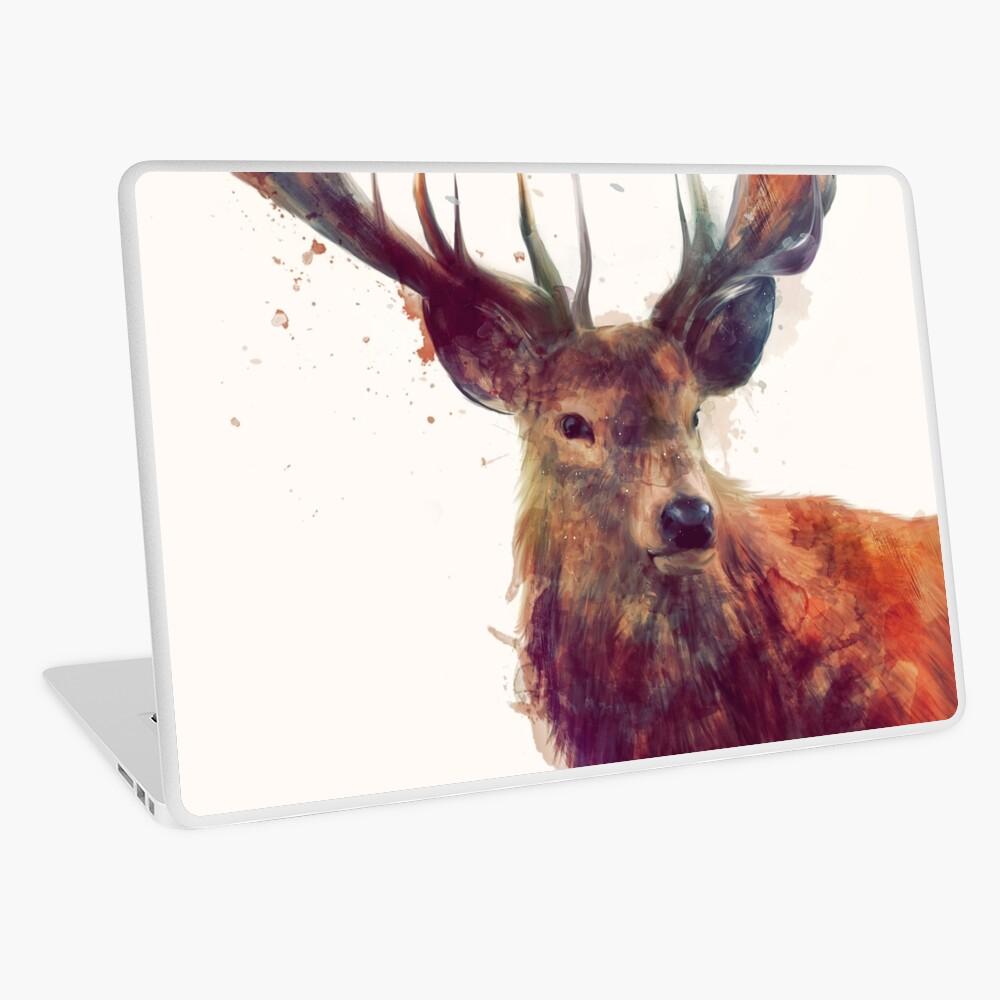 Red Deer Laptop Skin