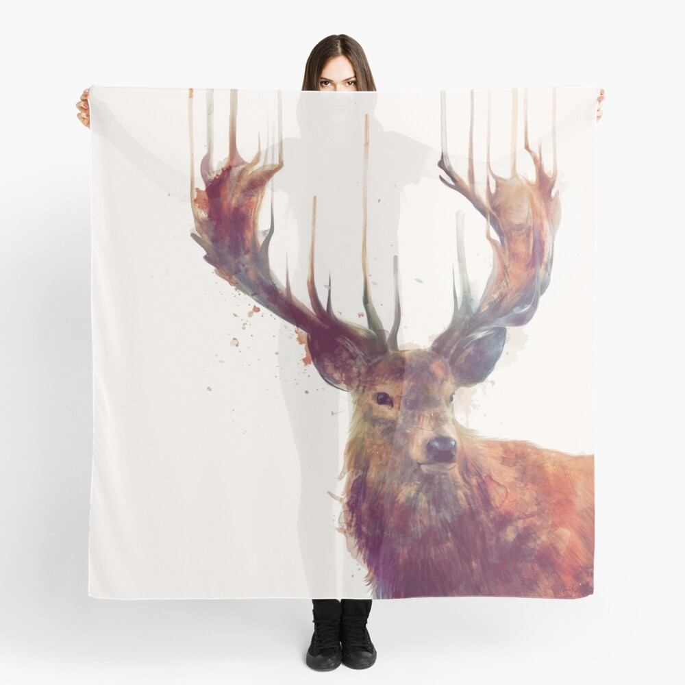 Red Deer Scarf