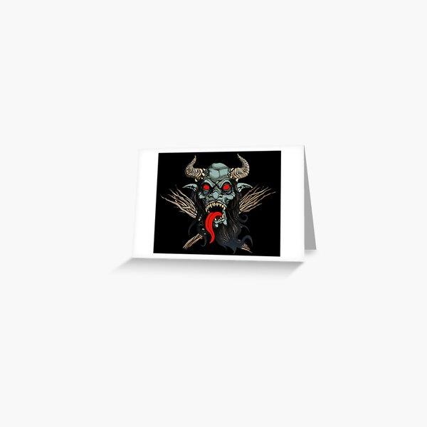 KRAMPUS II  Greeting Card
