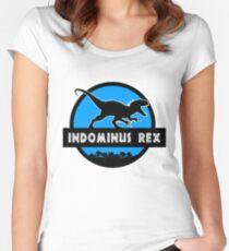 Jurassic World: Indominus Rex Women's Fitted Scoop T-Shirt