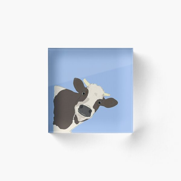 Cow Acrylic Block