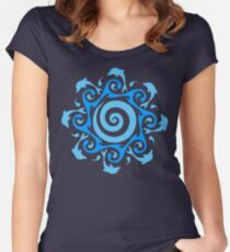 Turn The Tide  Women's Fitted Scoop T-Shirt