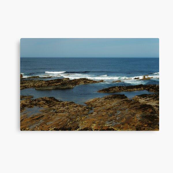 GENTLY ROCKS Canvas Print