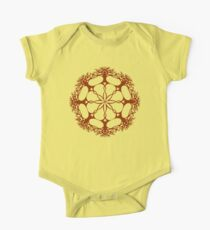 Hearthearth Tree Mandala One Piece - Short Sleeve