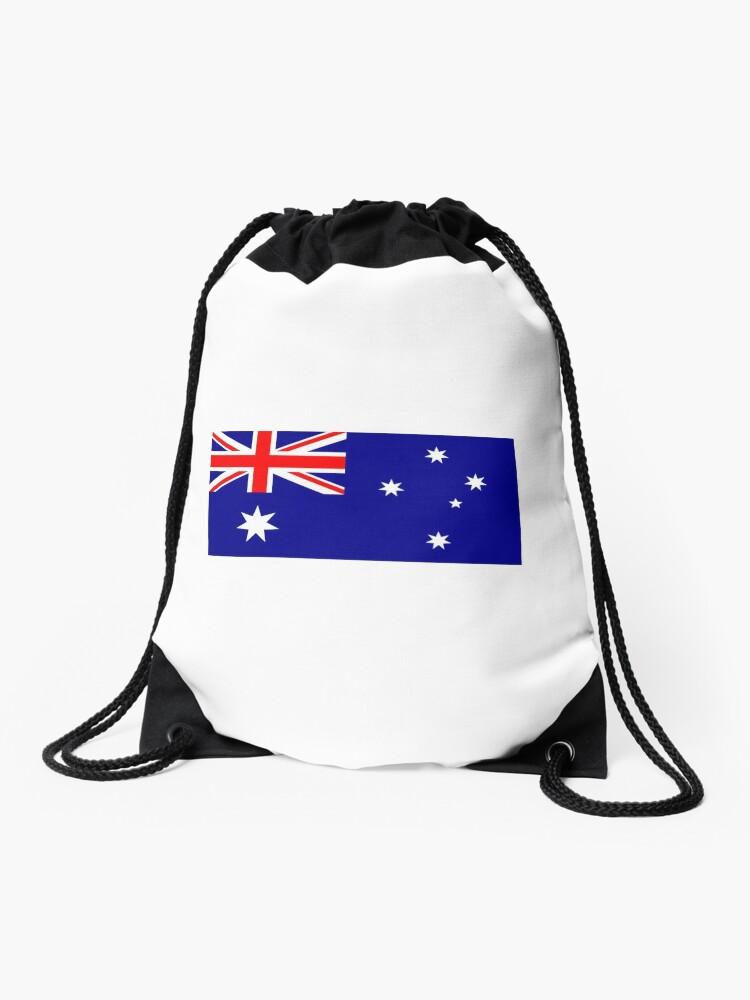 Drawstring Backpack Flag Of Australia Bags
