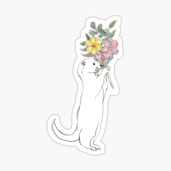 Gift from an Otter Sticker