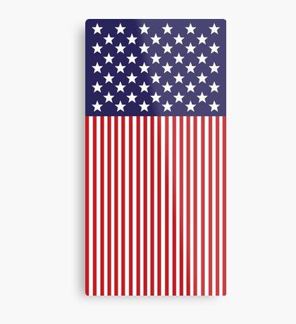Stylized American Flag Metal Print
