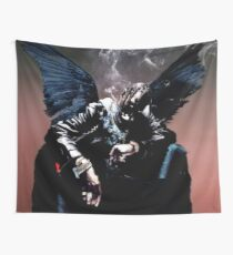 Birds In The Trap Wall Tapestry