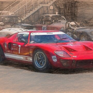 Red GT40 by StuartRow