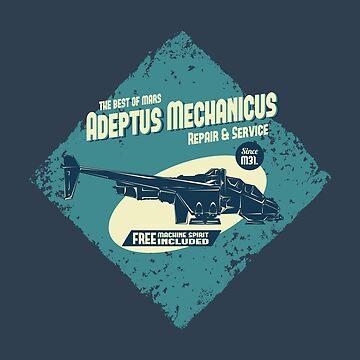 Adeptus Mechanicus - Vulture by moombax