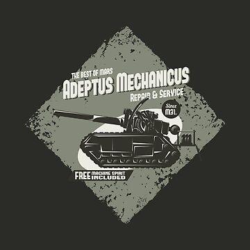 Adeptus Mechanicus - Basilisk by moombax