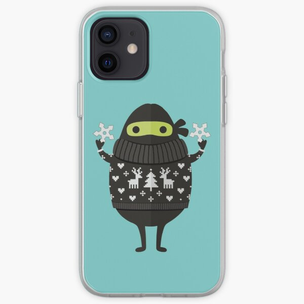 Ninjacado in Holiday Sweater iPhone Soft Case
