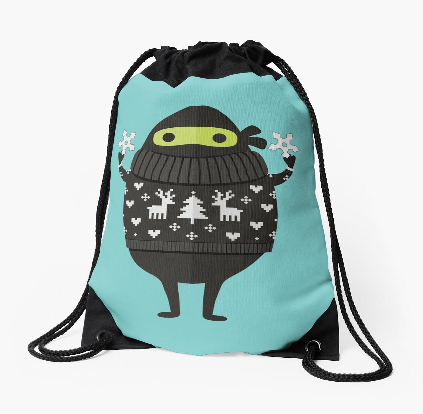 Ninjacado in Holiday Sweater by daisy-beatrice