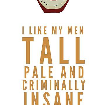 I like my men.... by hispurplegloves