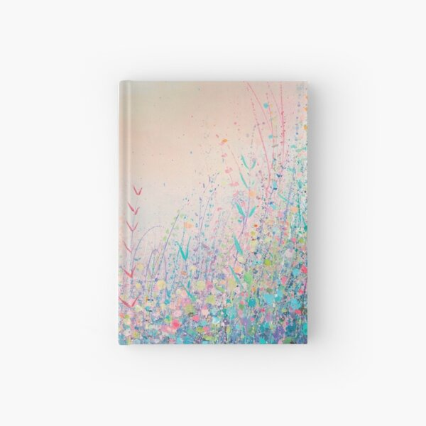 May In Blue Hardcover Journal