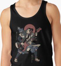 Camisetas de tirantes para hombre Samurai Bajista