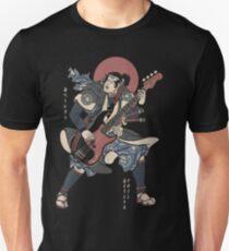 Camiseta unisex Samurai Bajista