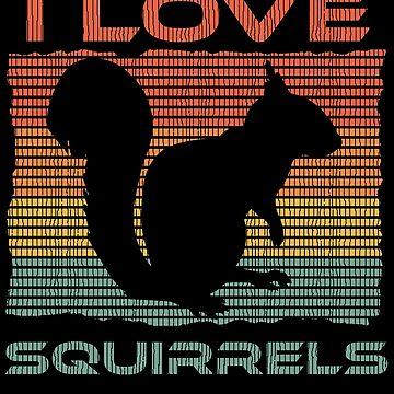 I love squirrels by mtsdesign