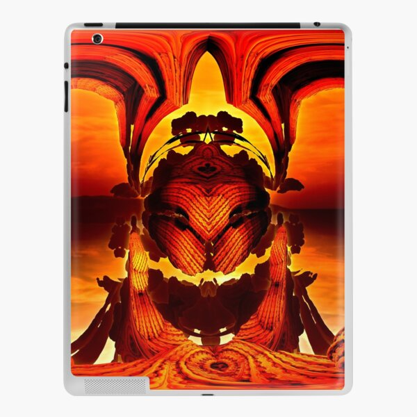 The Keeper Of The Water Passage by Spaced Painter iPad Skin