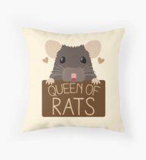 Königin der Ratten Dekokissen