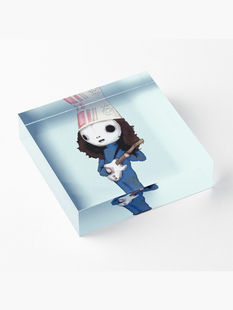 Alternate view of Buckethead Acrylic Block