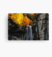 New York's Taughannock falls VII Canvas Print