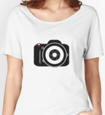 Camera for Photographer Women's Relaxed Fit T-Shirt