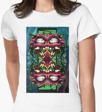 mirror demon Women's Fitted T-Shirt