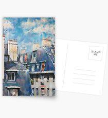Dächer von Montmartre Postkarten