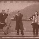 Street Musicians in Prague by Annabelle Evelyn