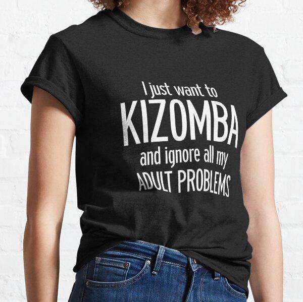 Bailarina de Kizomba - Danza Brasileña Kizomba Camiseta clásica