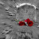 Henry's grave - Henry David Thoreau by Susana Weber