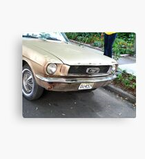 1964 Mustang Canvas Print