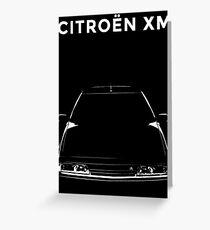 CITROEN XM Greeting Card