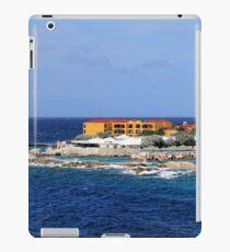 a desolate Curacao landscape iPad Case/Skin