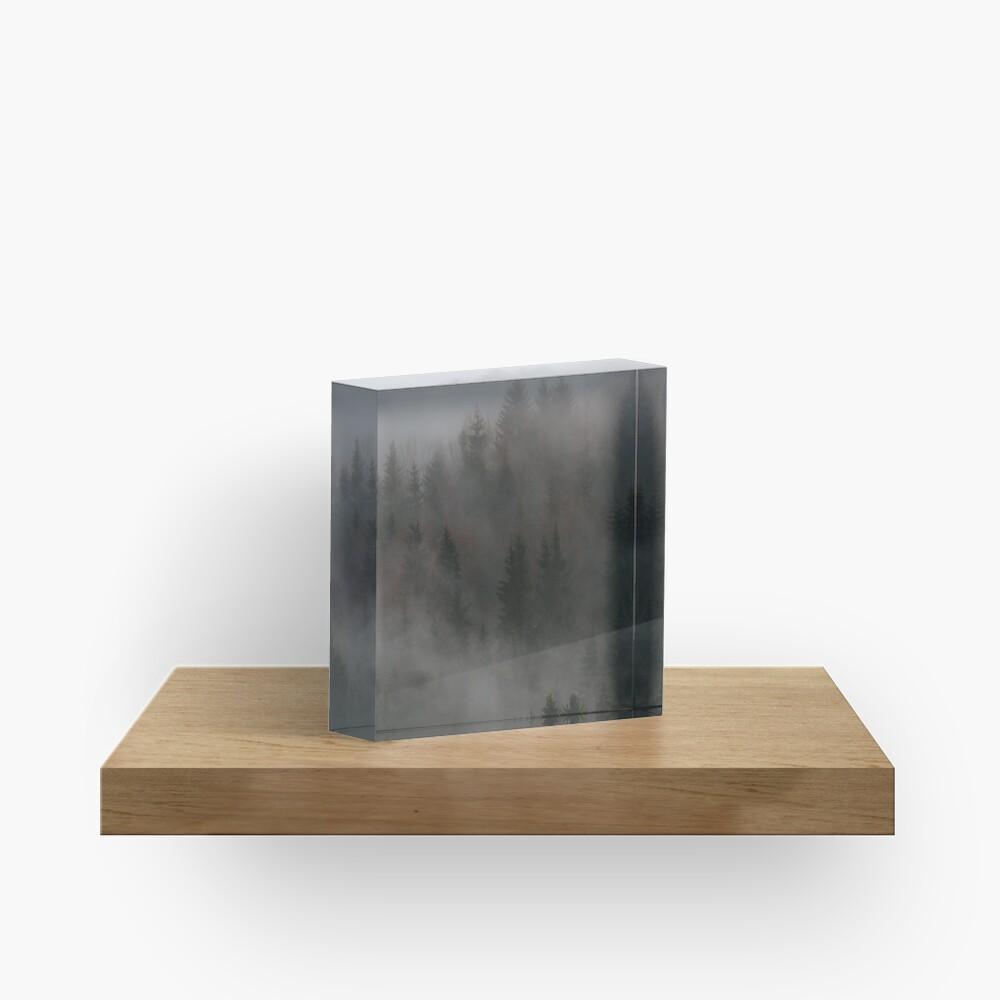 Bloc acrylique «Mystic Wood»