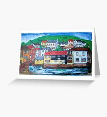 Polperro Greeting Card