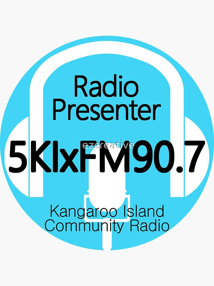 5KIxFM Kangaroo Island Community Radio Presenter by ezcreative