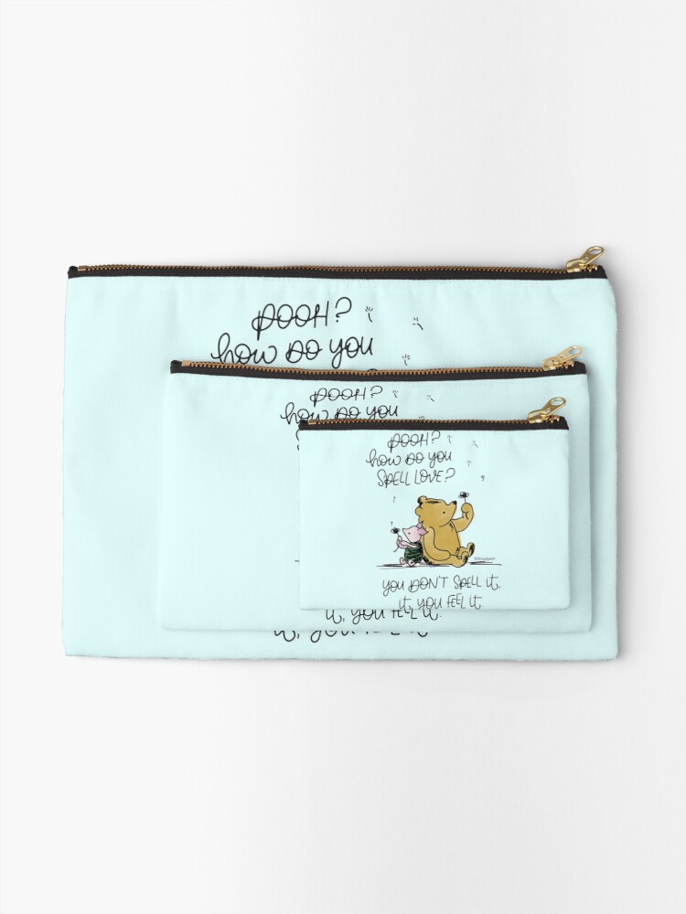 Alternate view of A Question of Love Zipper Pouch