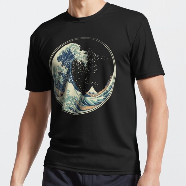 The great Wave Active T-Shirt