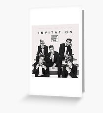 Why don't we - Invitation Greeting Card